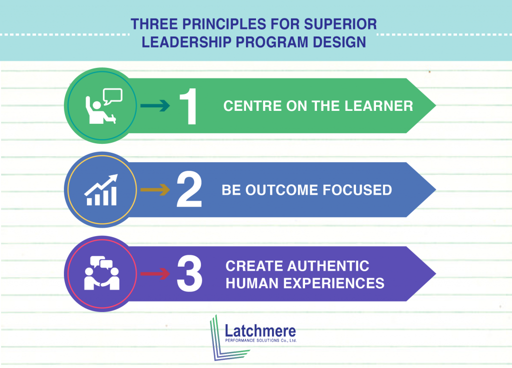 three principles for superior leadership program design